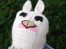 Alpaca Kids - Alpaca Hat with Ear Flaps