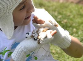 Alpaca Kids - Alpaca Fingerless Gloves