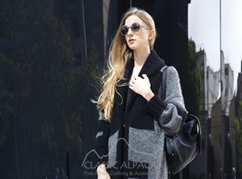Eithne Oversized Long Coat