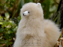 BABY Alpaca Fur - Peruvian Ornament 13 inches