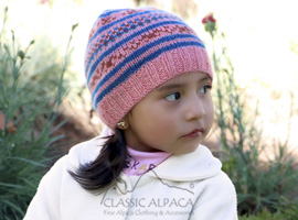 Winter Alpaca Kids-Hat