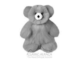 BABY ALPACA Fur - Cotton Kandi Teddy Bear 15""