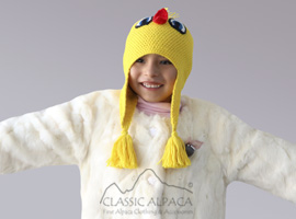 Alpaca Kids - Piolin Hat with Ear Flaps