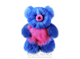 BABY ALPACA Fur - Cotton Kandi Teddy Bear 12""