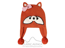 Alpaca Kids - Fox Hat with Ear Flaps