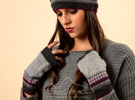 Merrivale Alpaca Fingerless Gloves