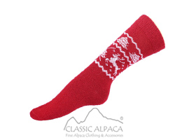 Alpaca Holiday Unisex Socks