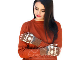 Misuri Alpaca Fingerless Gloves