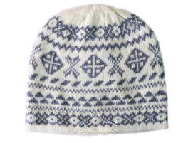 Winter Alpaca Knit Hat - Fleece Lining