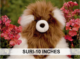 PREMIUM Baby Suri Fur-Classic Ornament 10 inches
