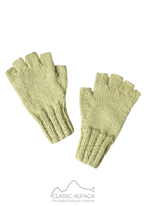 Half Finger Gloves for Babies - Baby Alpaca
