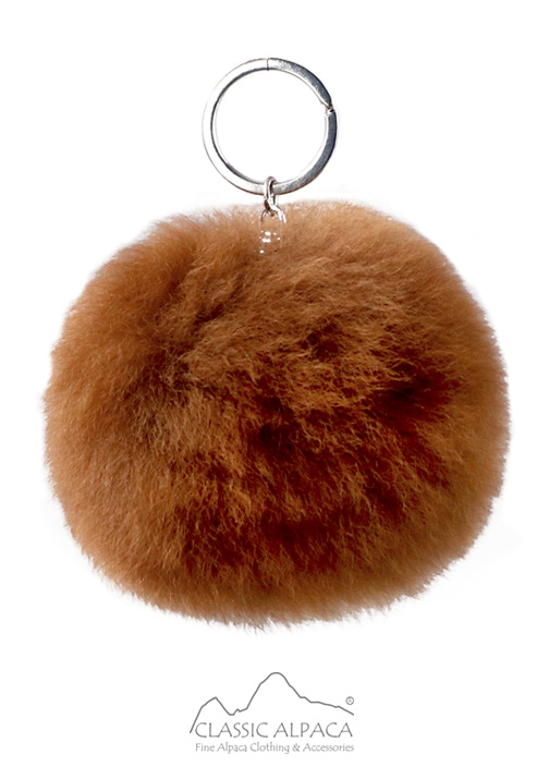 PREMIUM Fur PomPom Key Chain