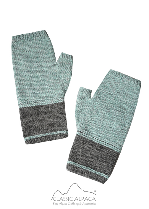 Danna Baby Alpaca Fingerless Gloves