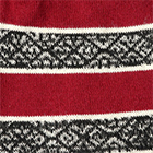 Reversible Alpaca Beanie Hat in Burgundy