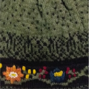 Bloom Alpaca Hat-Fleece Lining in Green